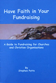 Book entitled have faith in your fundraising