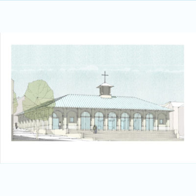 Sketch Of Envisaged Newquay Methodist Centre